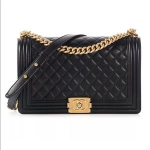 2ca9e3068275 CHANEL. Chanel New Medium boy flap shoulder bag